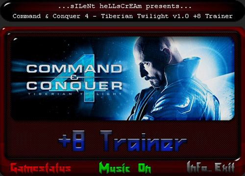 commandconquer4tiberium Command and Conquer 4: Tiberium Twilight 1.5.3698 +8 Trainer
