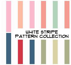 White Stripes Pattern