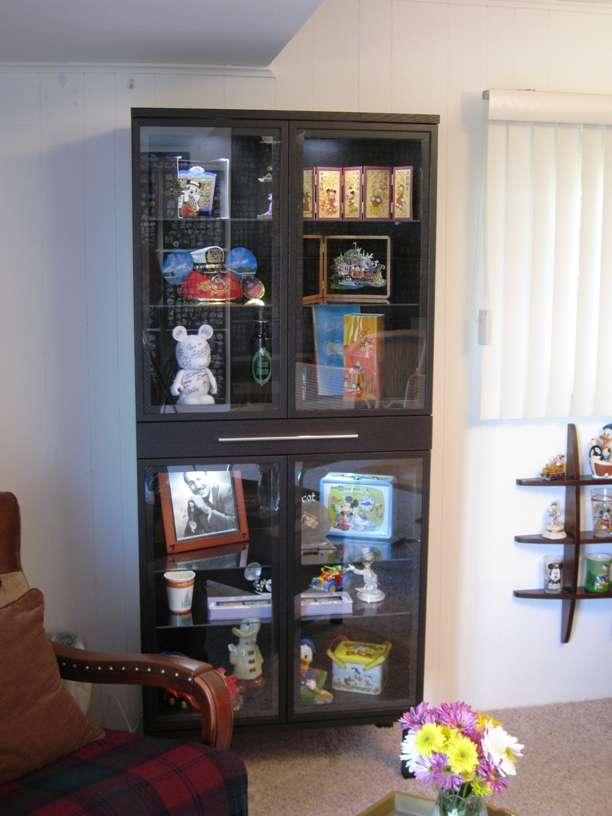Ikeas Bjursta Glass Cabinet Walt Disney World For Grownups