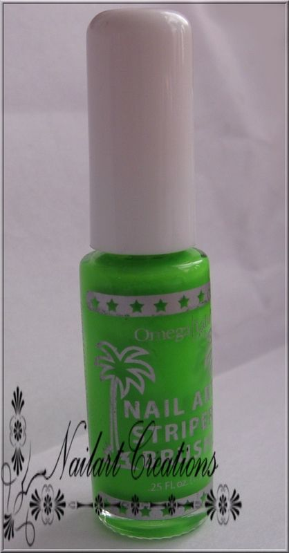 Nailart Creations Review Omega Labs Nail Art Striper Brush Nr 203